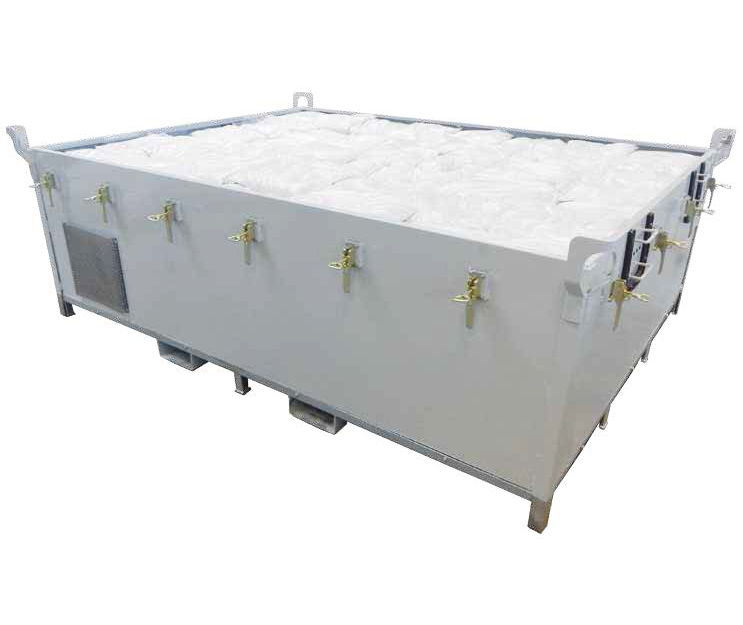 Prüfstandsbehälter 4200 offen