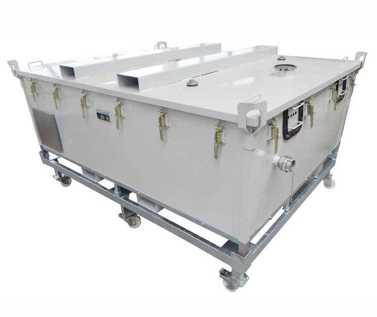 Prüfstandsbehälter 4200 Trolley